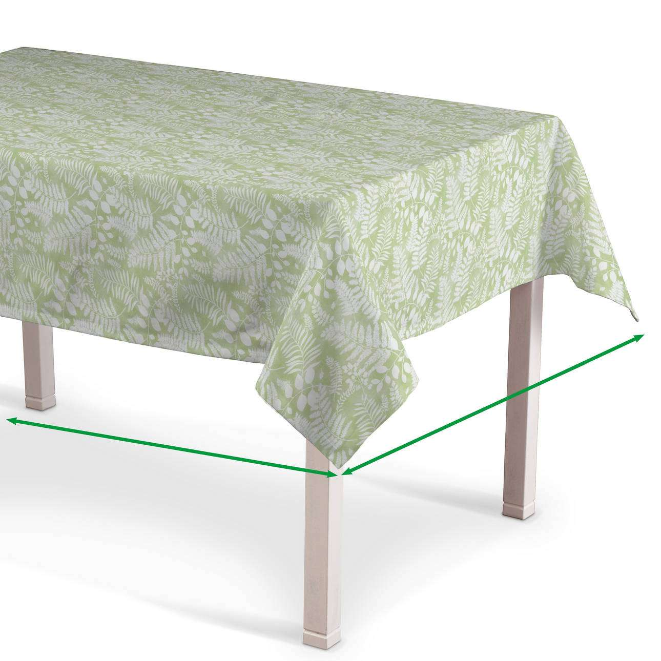 Rectangular tablecloth in collection Pastel Forest, fabric: 142-49