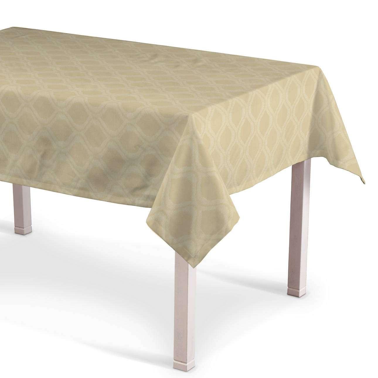 Rektangulär bordsduk  i kollektionen Damasco, Tyg: 142-53