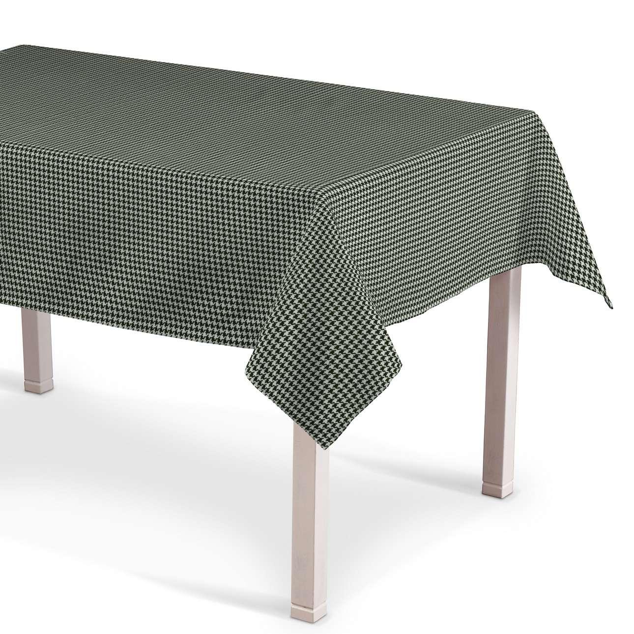 Asztalterítő téglalap alakú a kollekcióból Black & White szövet, Dekoranyag: 142-77