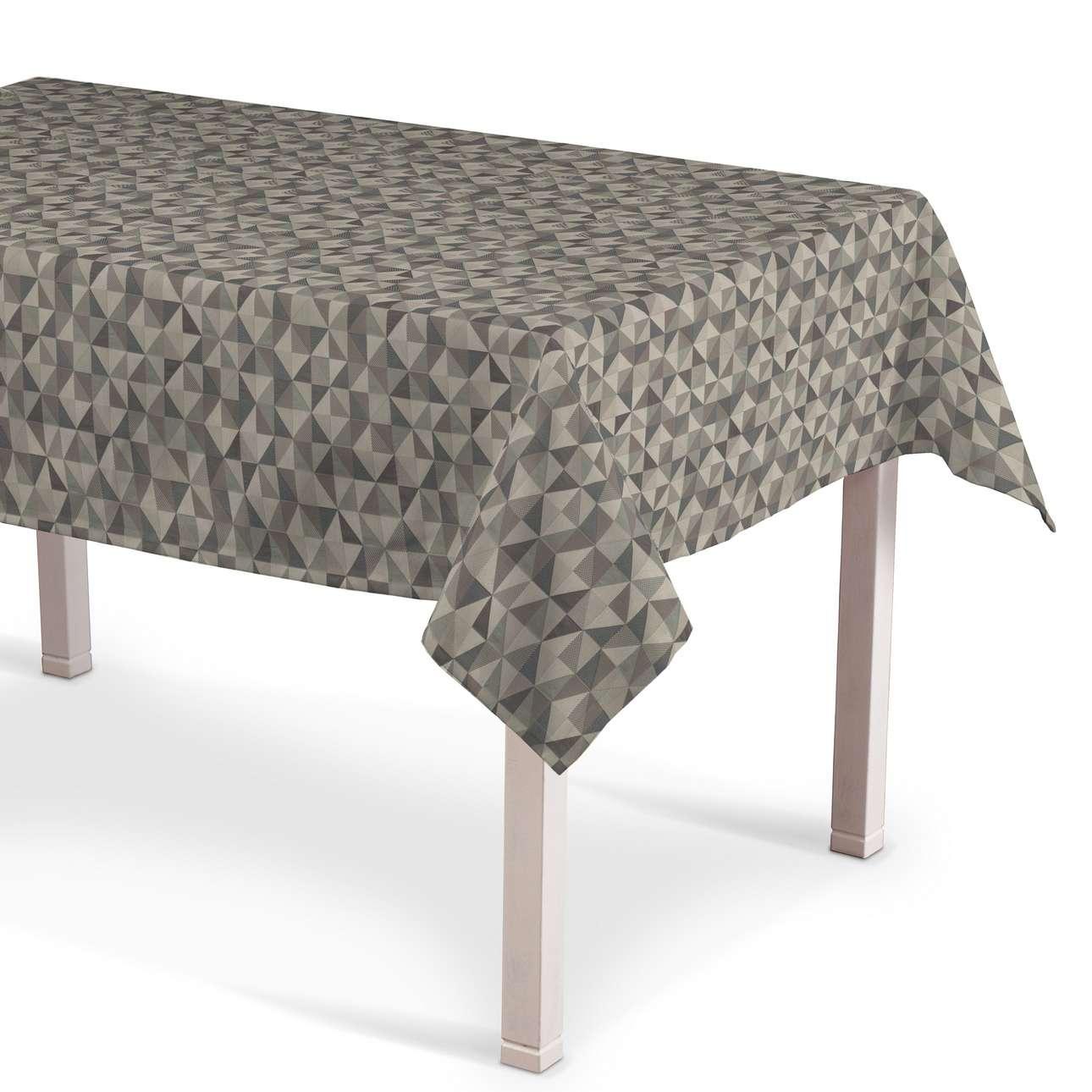 Rektangulær bordduk fra kolleksjonen Retro Glam, Stoffets bredde: 142-84