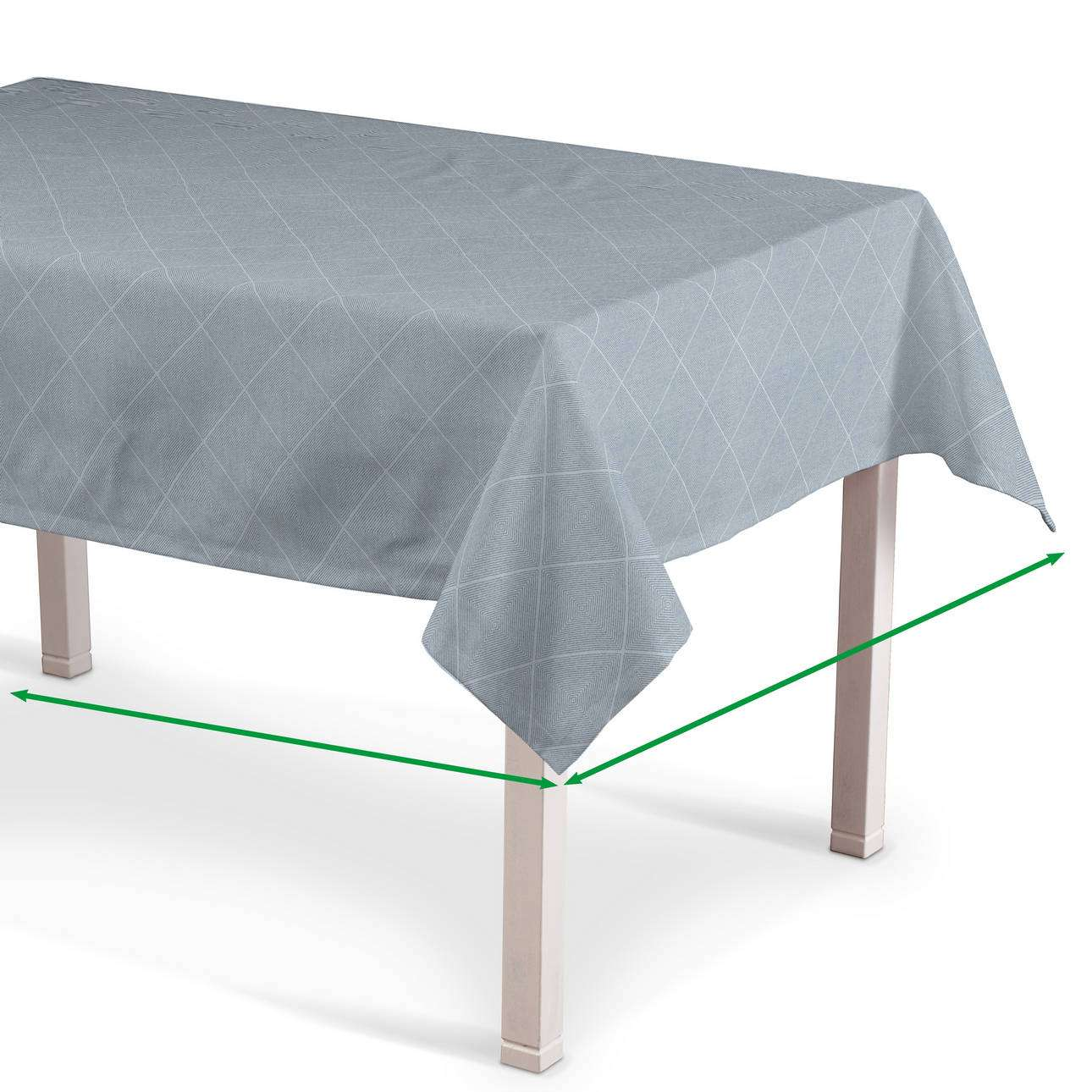 Rectangular tablecloth in collection Venice, fabric: 142-57