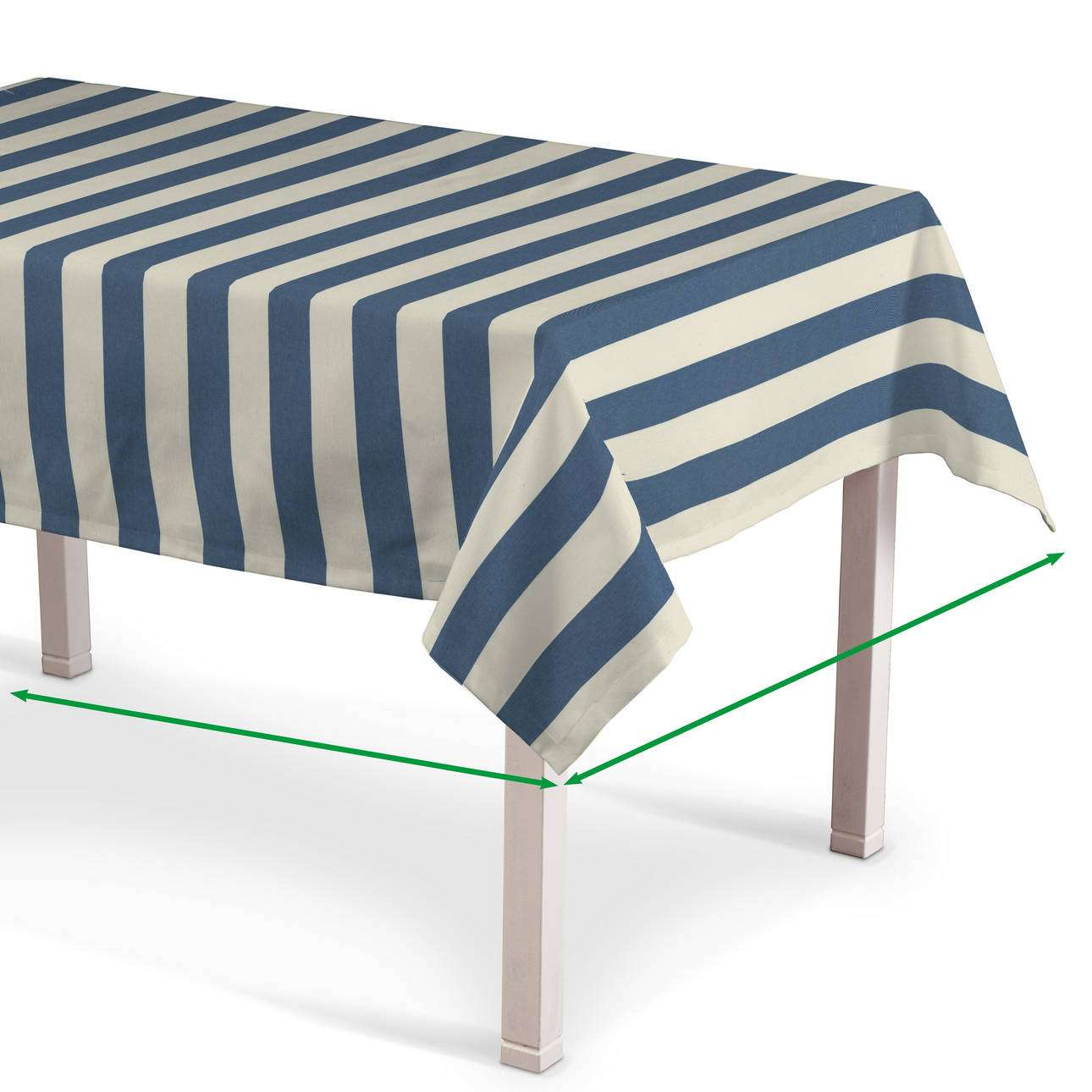 Rectangular tablecloth in collection Quadro, fabric: 142-70
