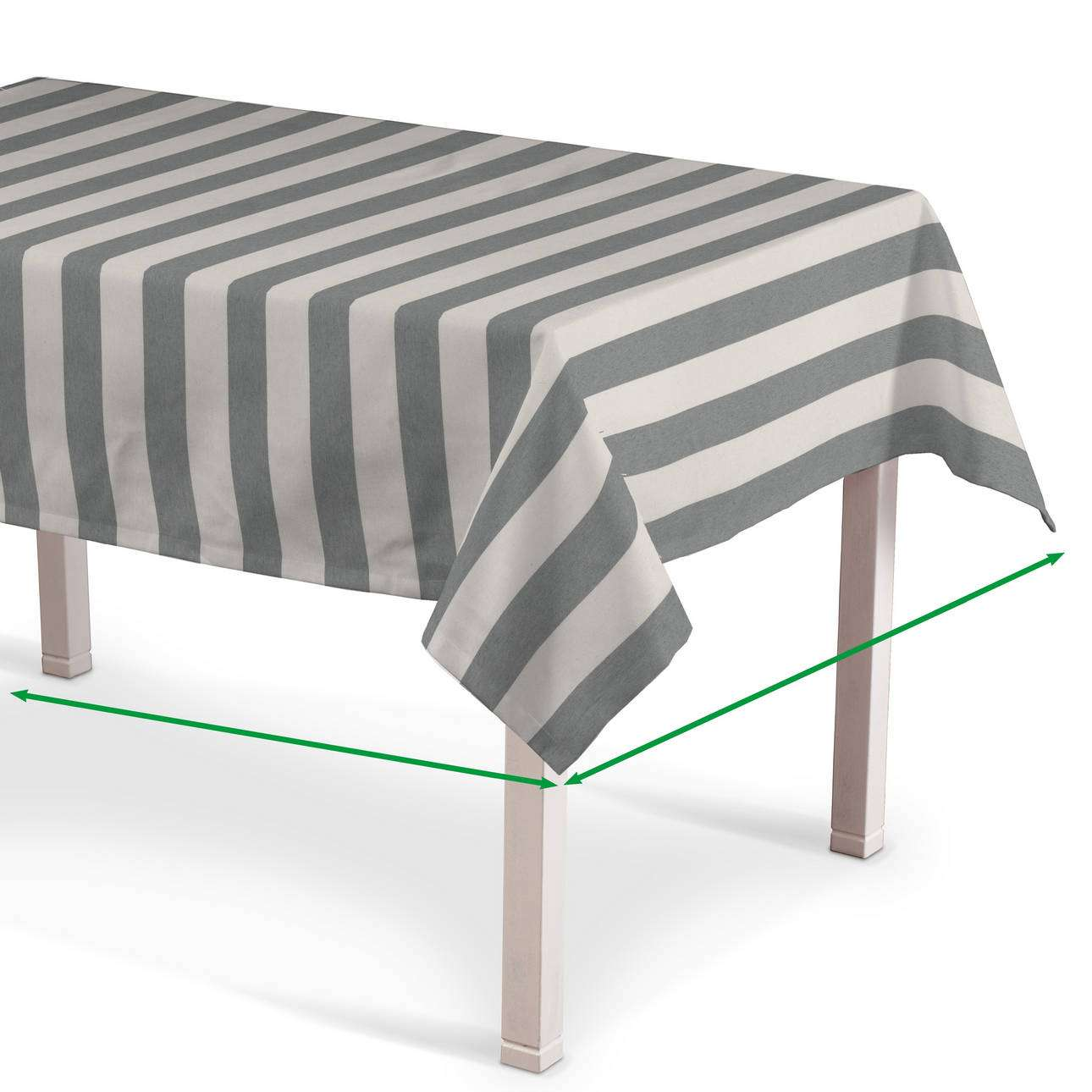 Rectangular tablecloth in collection Quadro, fabric: 142-71