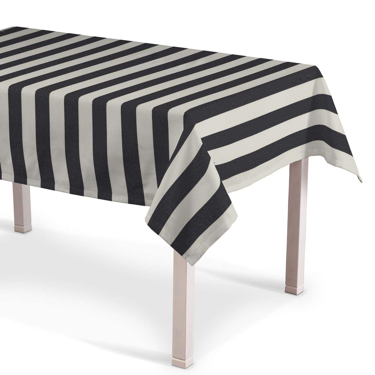 Obrus na stôl obdĺžnikový V kolekcii Quadro, tkanina: 142-72