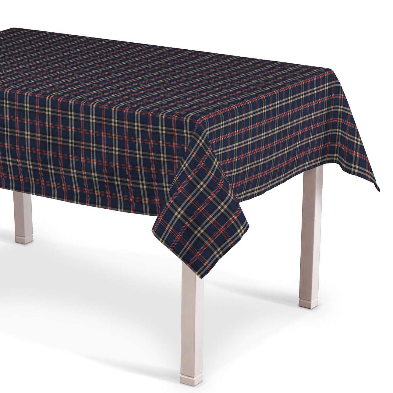 Rektangulær bordduk fra kolleksjonen Bristol , Stoffets bredde: 142-68