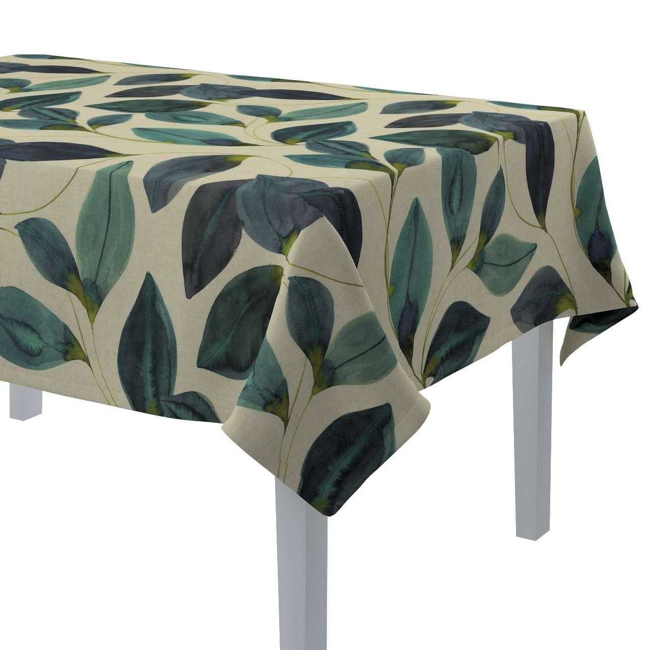 Rektangulær bordduk fra kolleksjonen Abigail, Stoffets bredde: 143-15