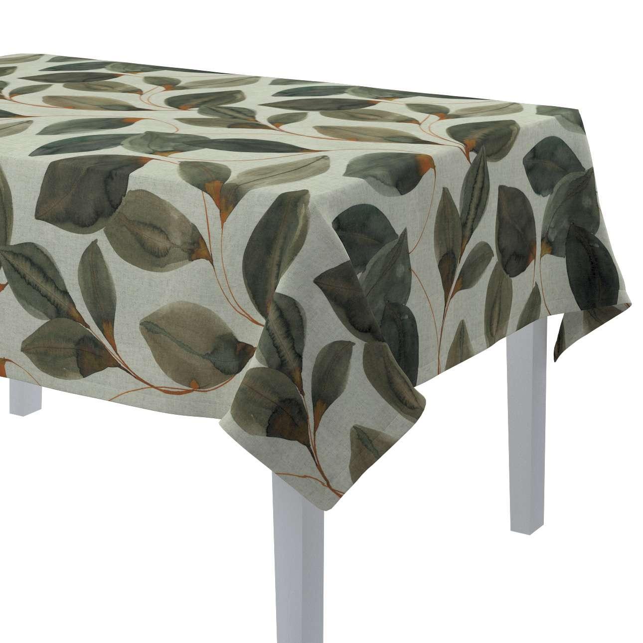 Rektangulär bordsduk i kollektionen Abigail, Tyg: 143-17