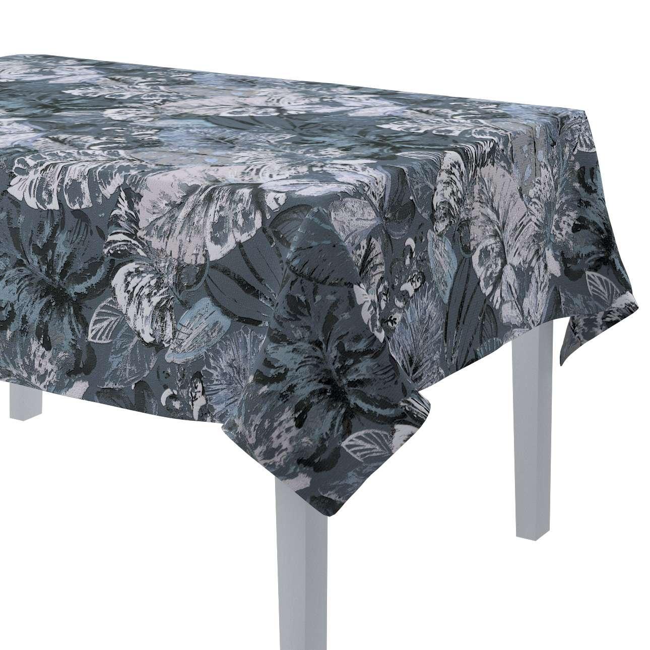 Rektangulær bordduk fra kolleksjonen Abigail, Stoffets bredde: 143-18