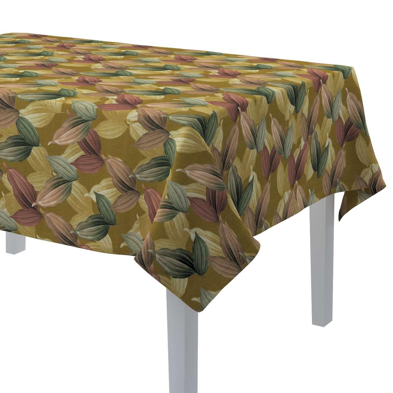 Rektangulär bordsduk i kollektionen Abigail, Tyg: 143-22