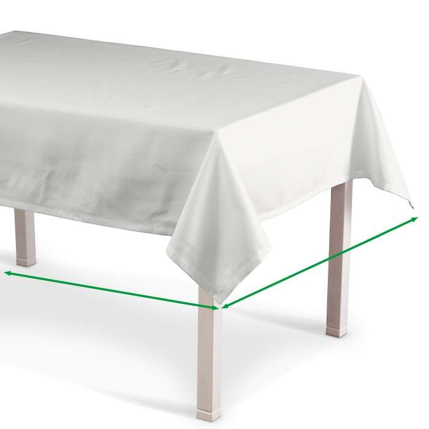 Rektangulär bordsduk i kollektionen Quadro II, Tyg: 136-02