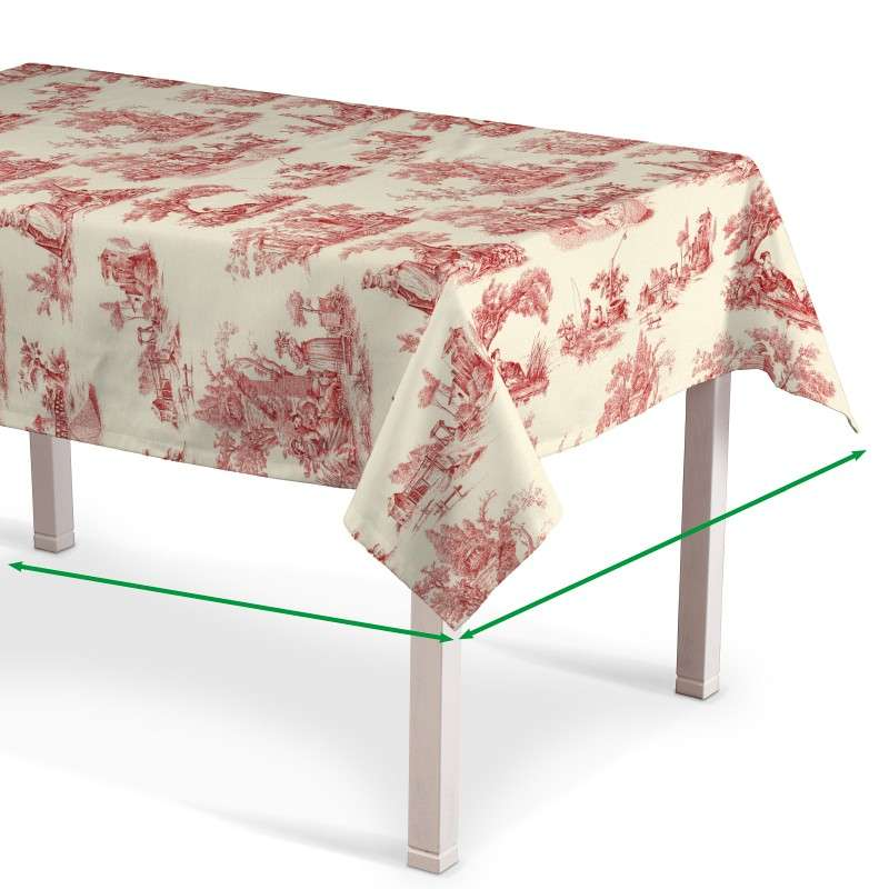 Asztalterítő téglalap alakú a kollekcióból Avinon Lakástextil, Dekoranyag: 132-15