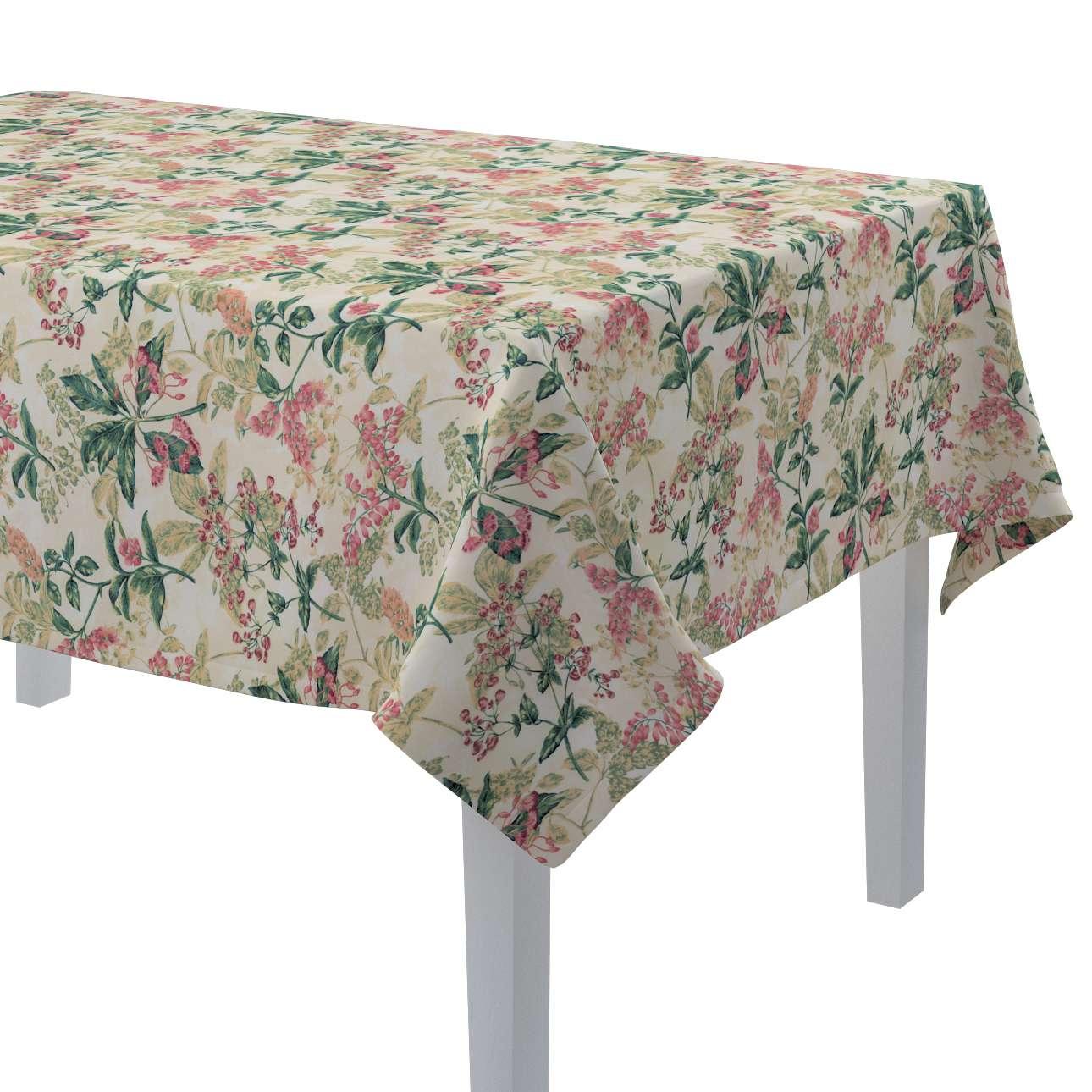 Rektangulær bordduk fra kolleksjonen Londres , Stoffets bredde: 143-41