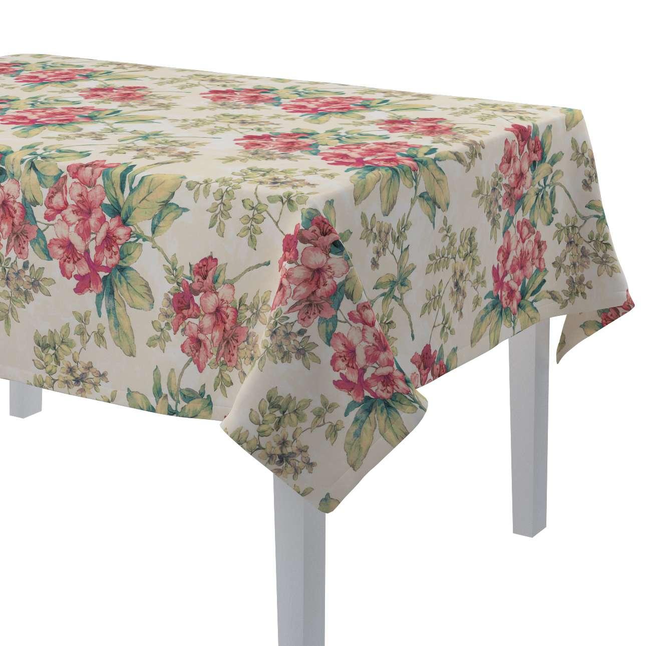 Rektangulær bordduk fra kolleksjonen Londres , Stoffets bredde: 143-40