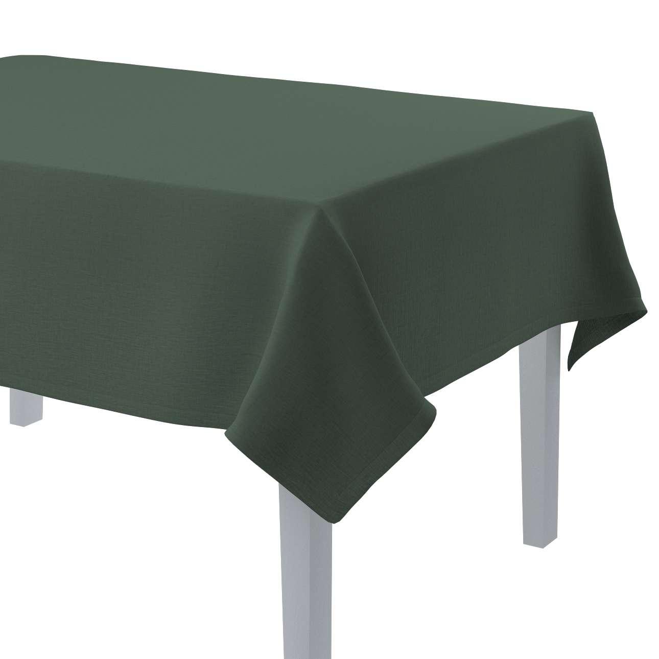 Rektangulære borddug fra kollektionen Linen, Stof: 159-08
