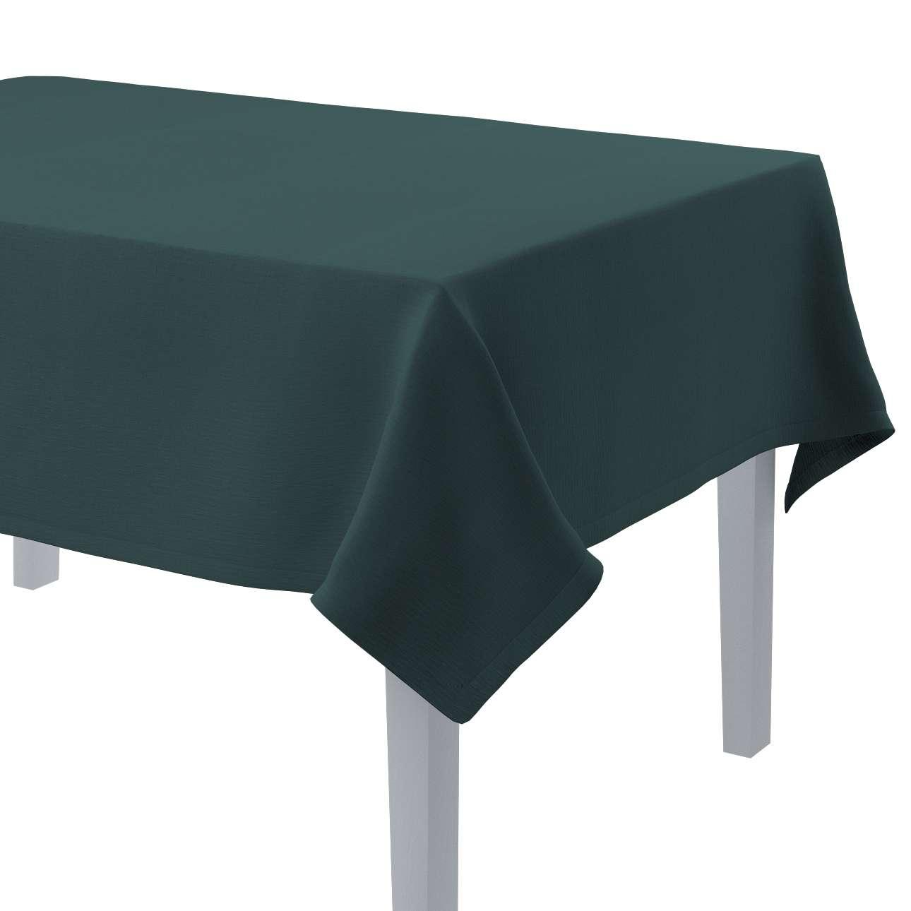 Rektangulär bordsduk i kollektionen Linne, Tyg: 159-09