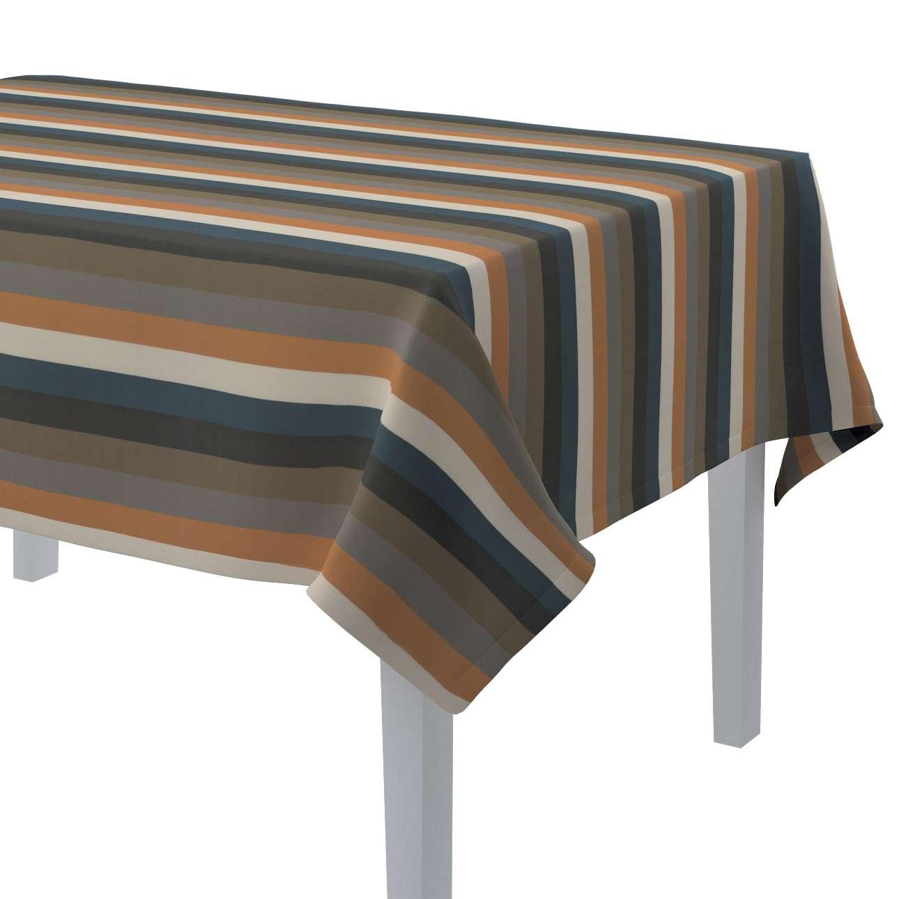 Rektangulär bordsduk i kollektionen Vintage 70's, Tyg: 143-58