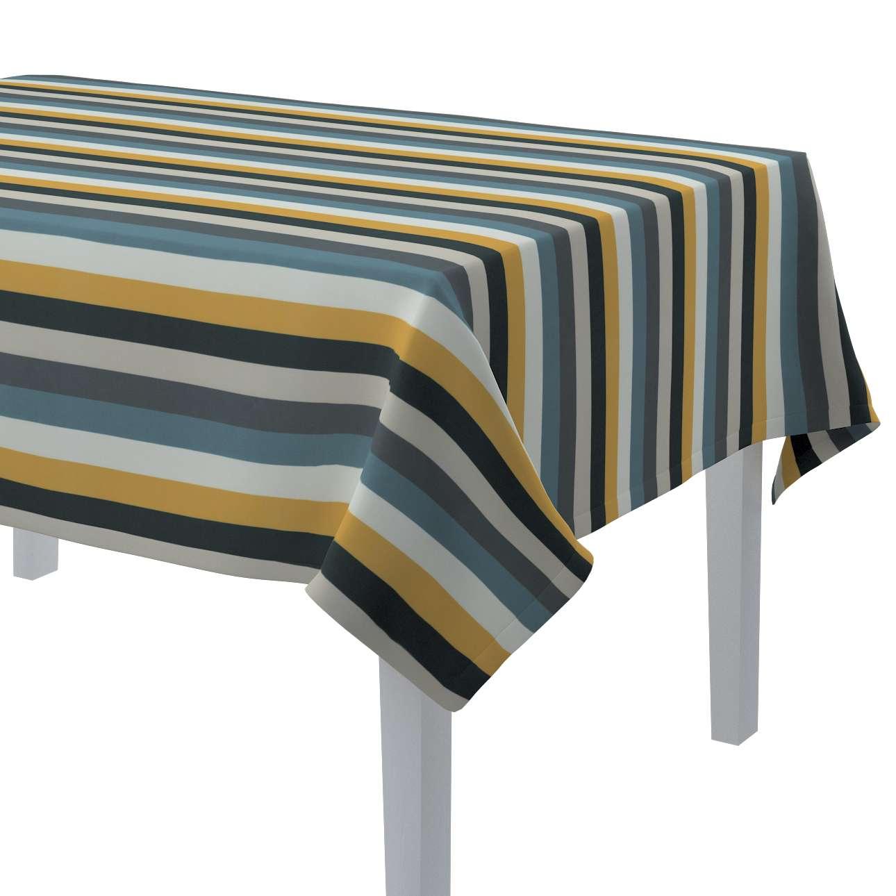 Rektangulær bordduk fra kolleksjonen Vintage 70's, Stoffets bredde: 143-59