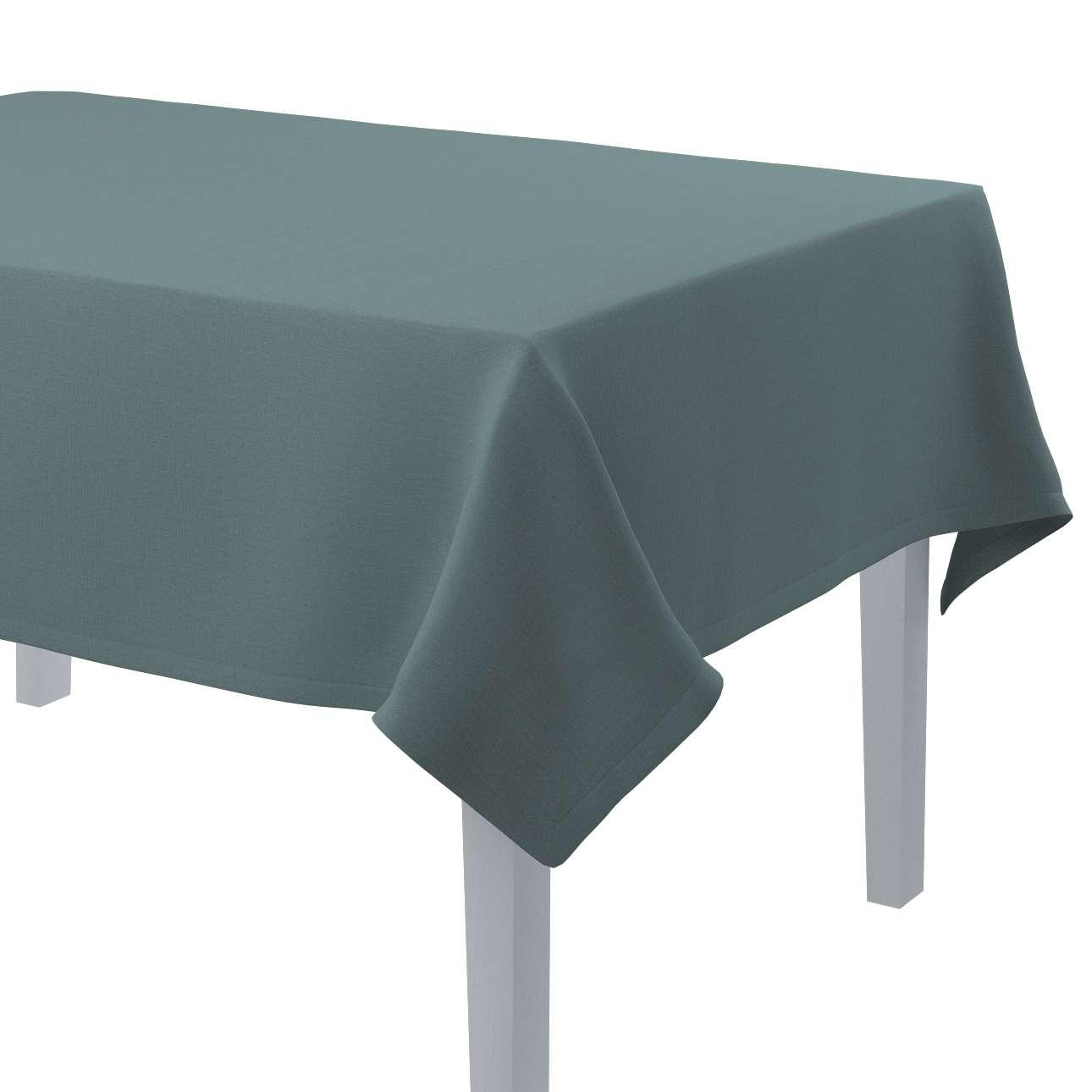 Rektangulær bordduk fra kolleksjonen Cotton Panama, Stoffets bredde: 702-40