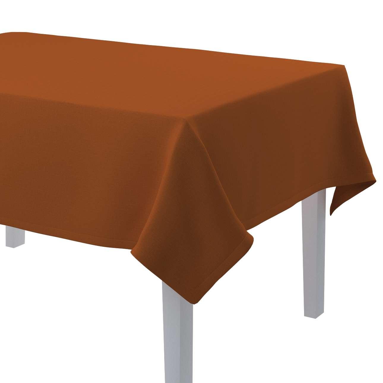 Rektangulär bordsduk i kollektionen Panama Cotton, Tyg: 702-42