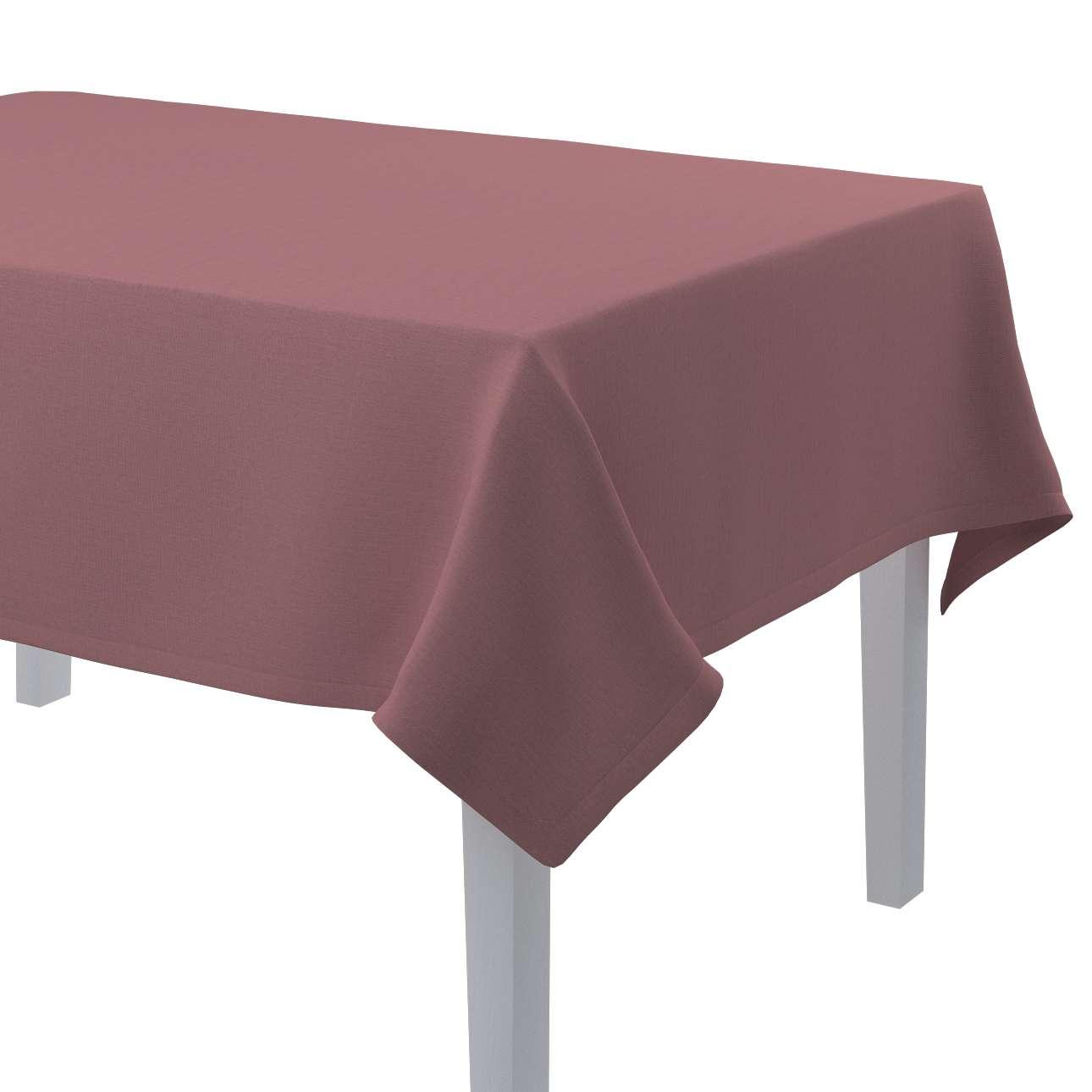 Rechteckige Tischdecke von der Kollektion Cotton Panama, Stoff: 702-43