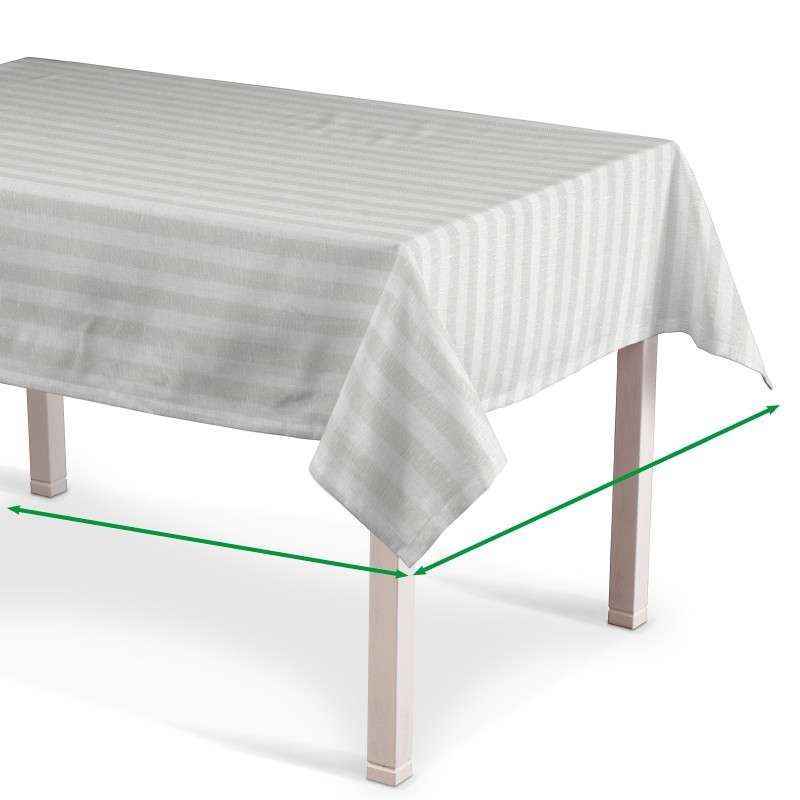 Rectangular tablecloth in collection Linen , fabric: 392-03