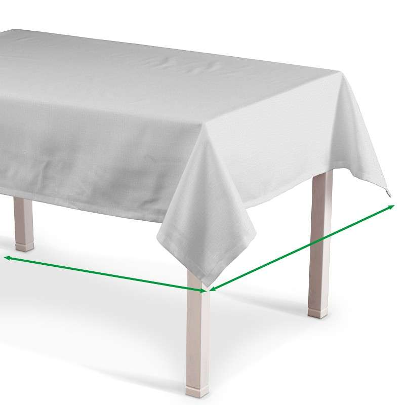 Rectangular tablecloth in collection Linen , fabric: 392-04
