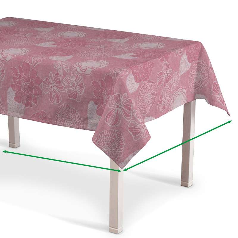 Rectangular tablecloth in collection Linen , fabric: 457-09