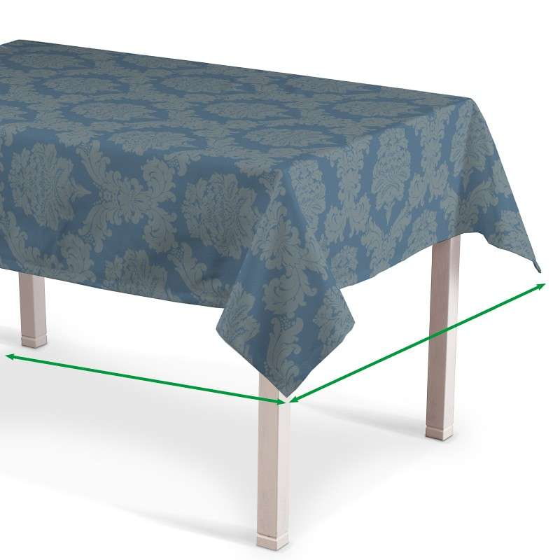 Rectangular tablecloth in collection Damasco, fabric: 613-67