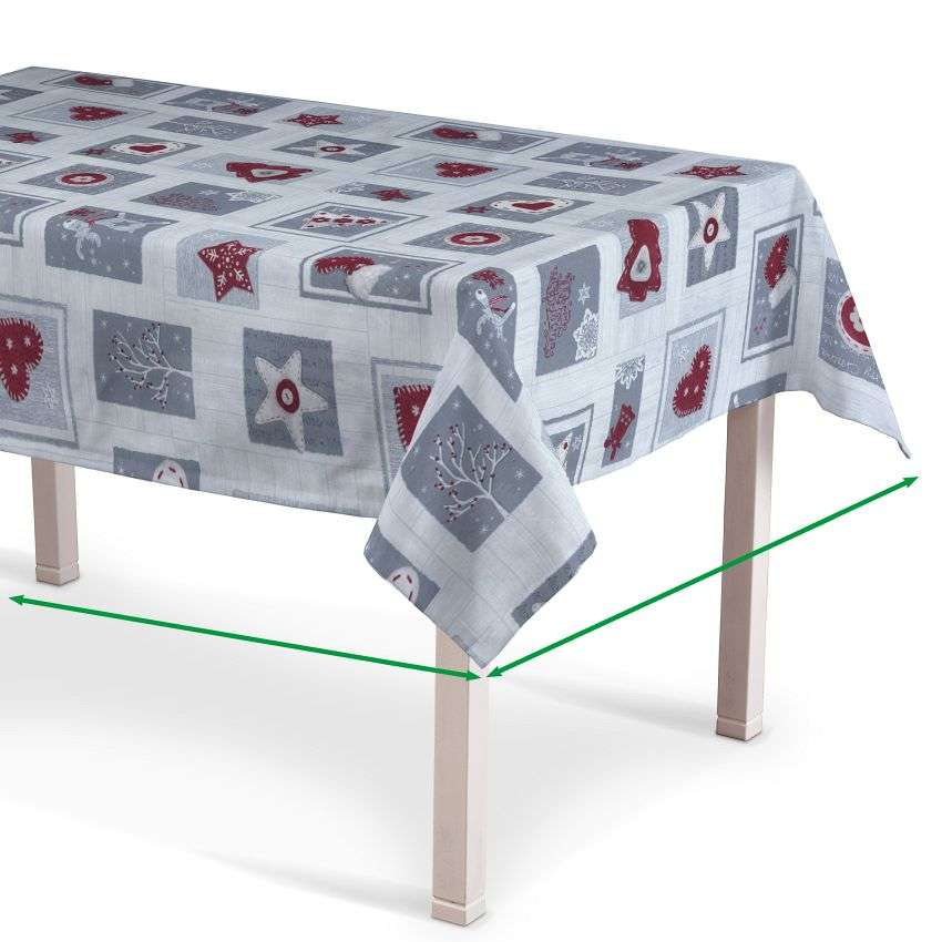 Rectangular tablecloth in collection Christmas , fabric: 629-23