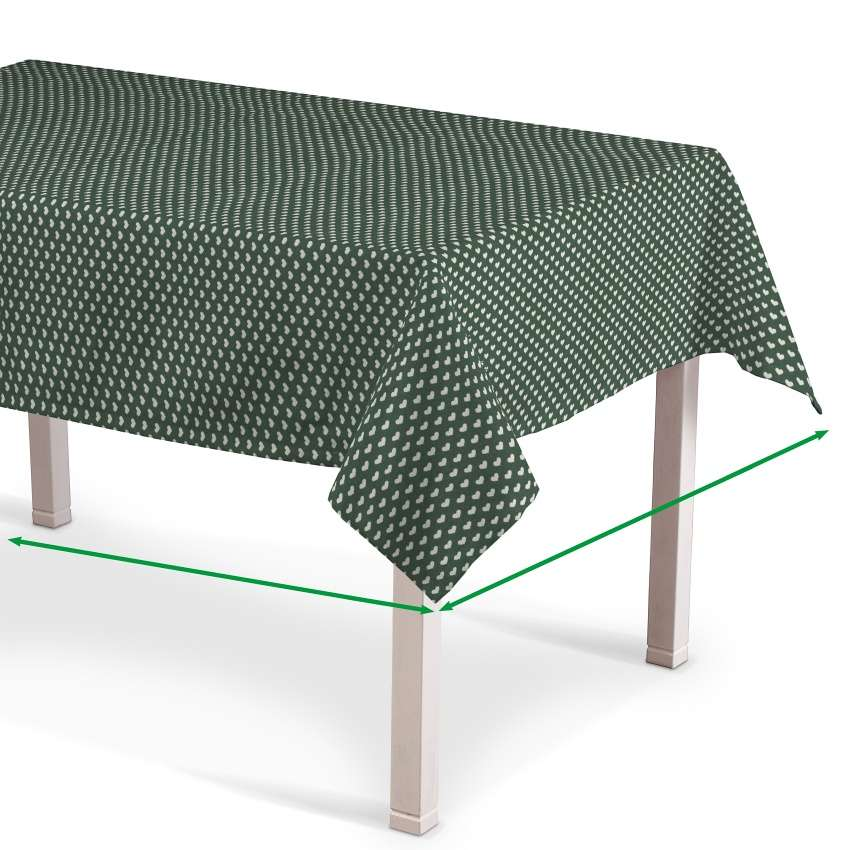 Rectangular tablecloth in collection Nordic, fabric: 630-21