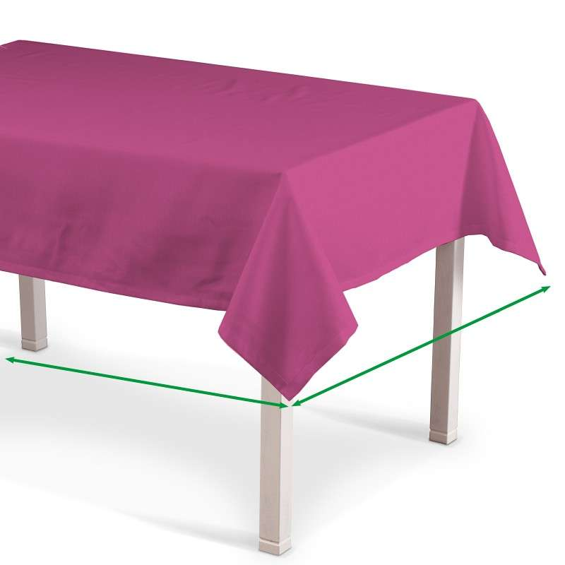 Rectangular tablecloth in collection Jupiter, fabric: 127-24