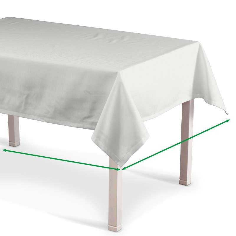 Rectangular tablecloth in collection Cotton Panama, fabric: 702-00