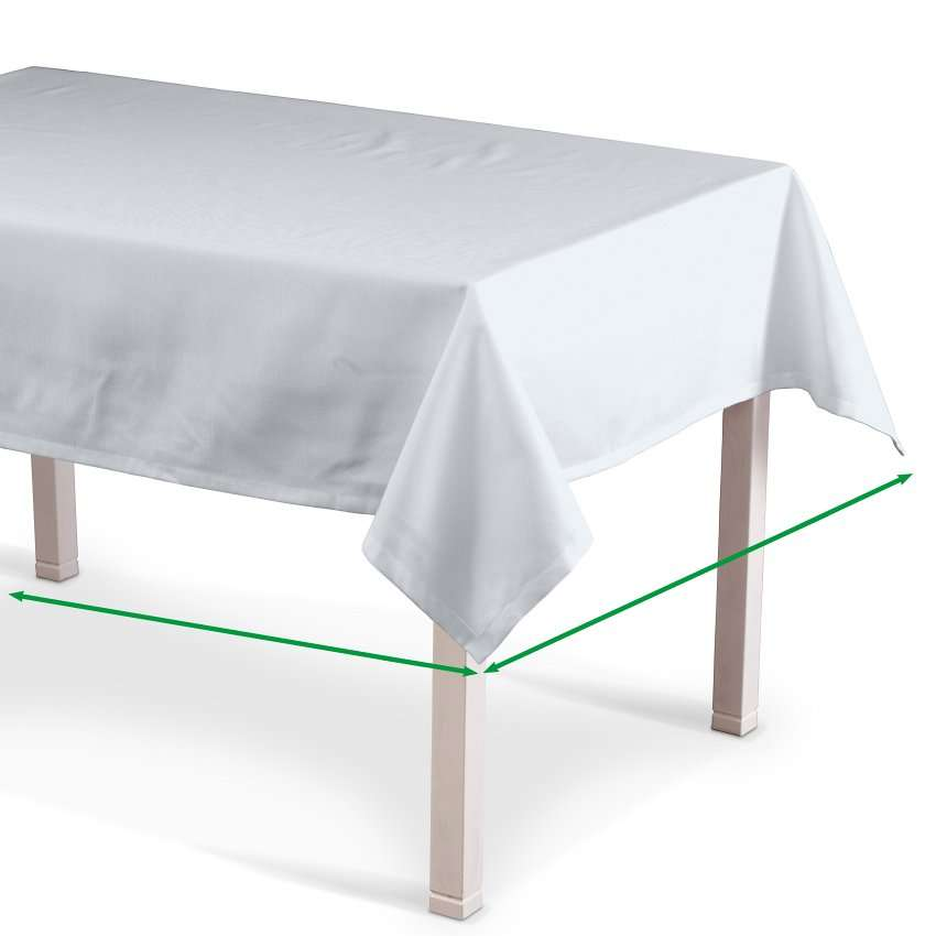 Rectangular tablecloth in collection Cotton Panama, fabric: 702-34