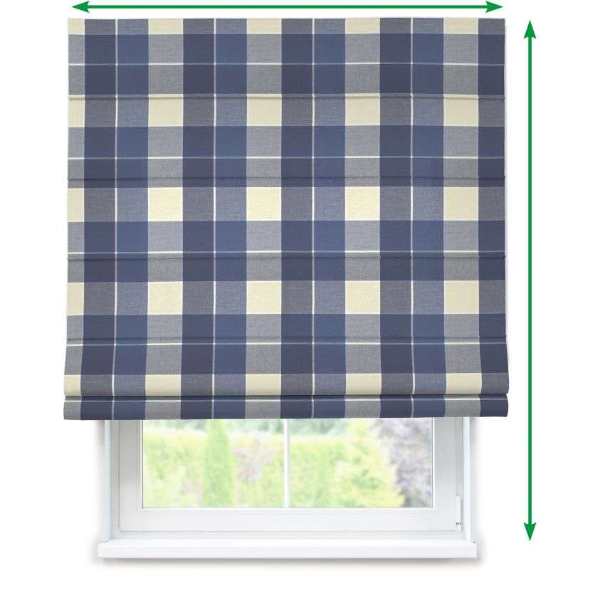 Capri roman blind in collection Cardiff, fabric: 136-24
