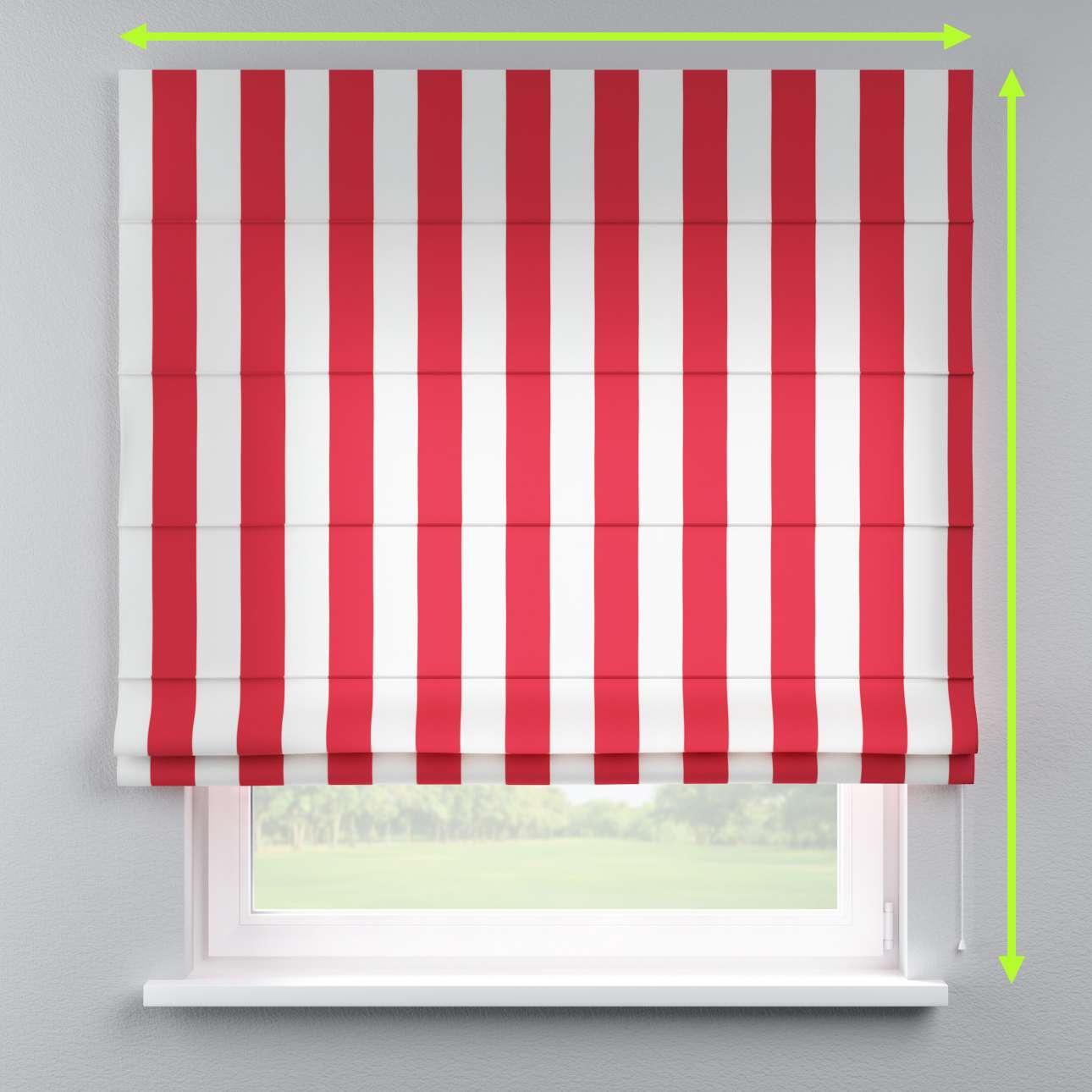 Capri roman blind in collection Comic Book & Geo Prints, fabric: 137-54