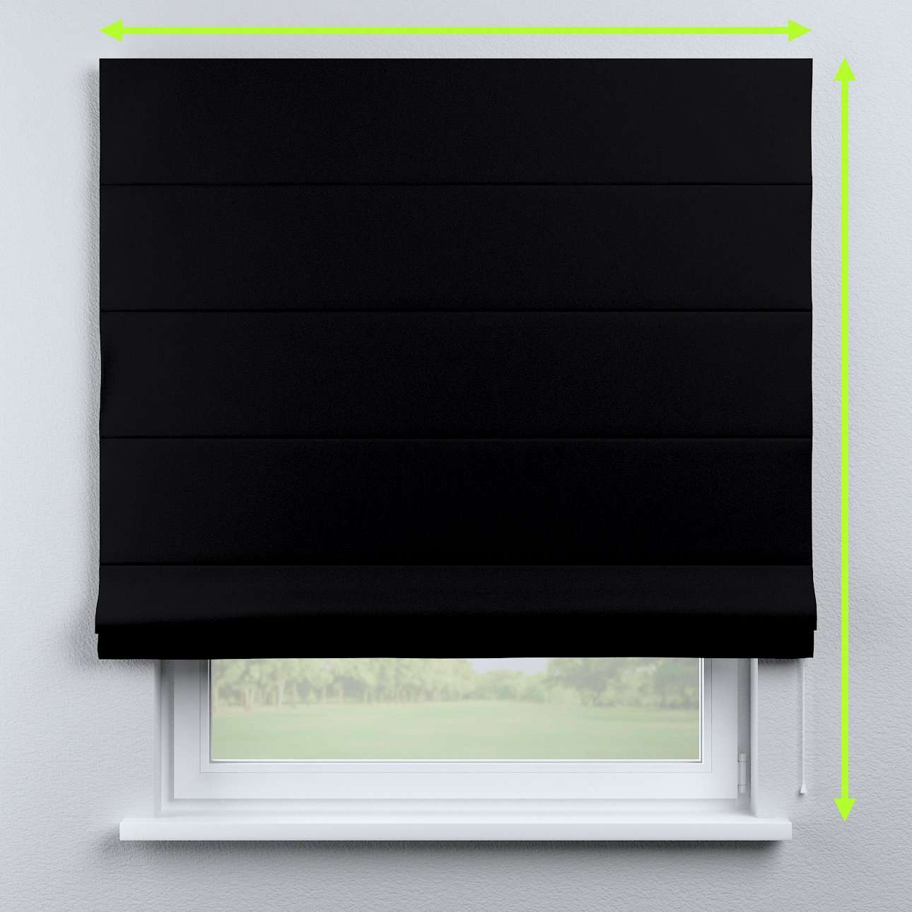 Capri roman blind in collection Blackout, fabric: 269-99