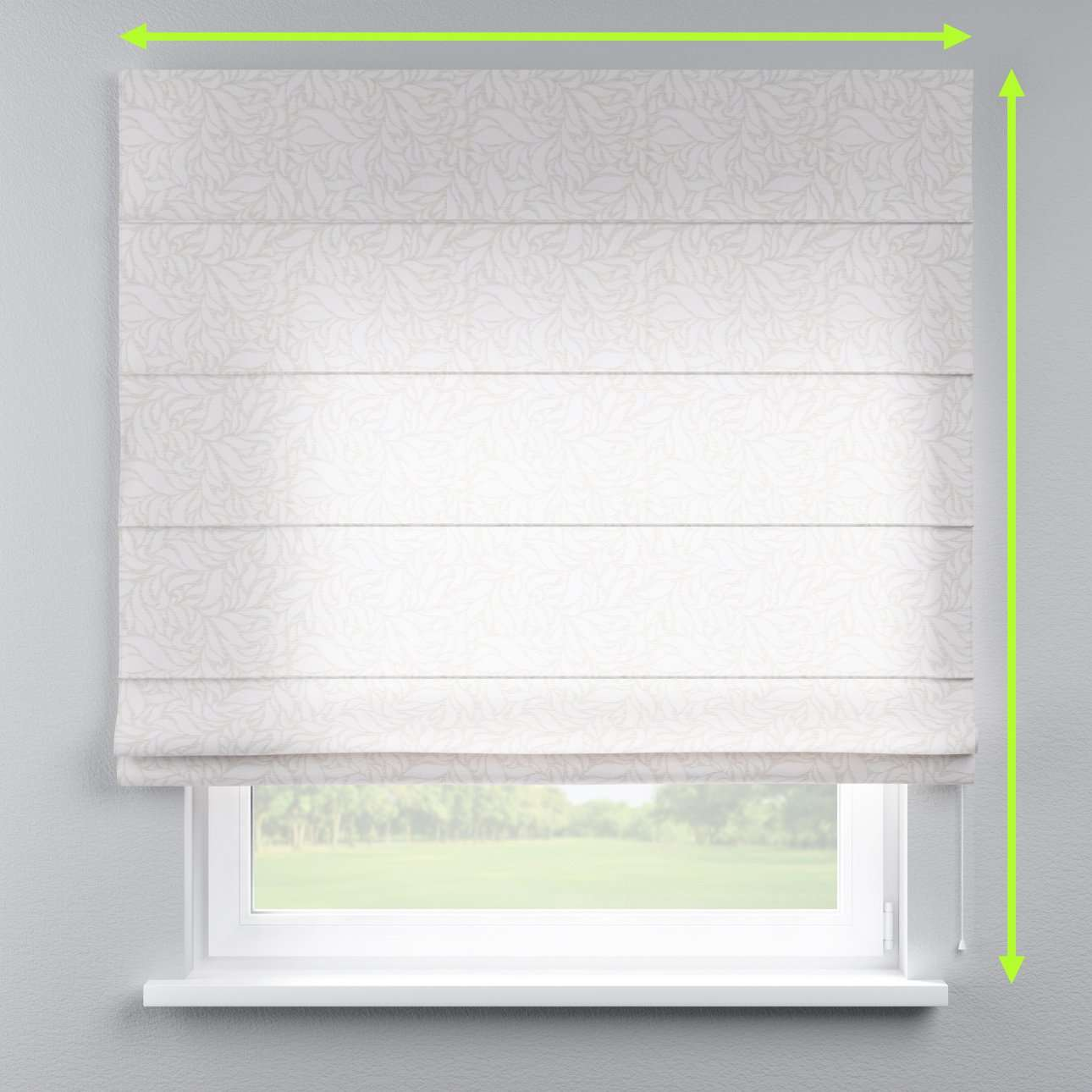 Capri roman blind in collection Venice, fabric: 140-50
