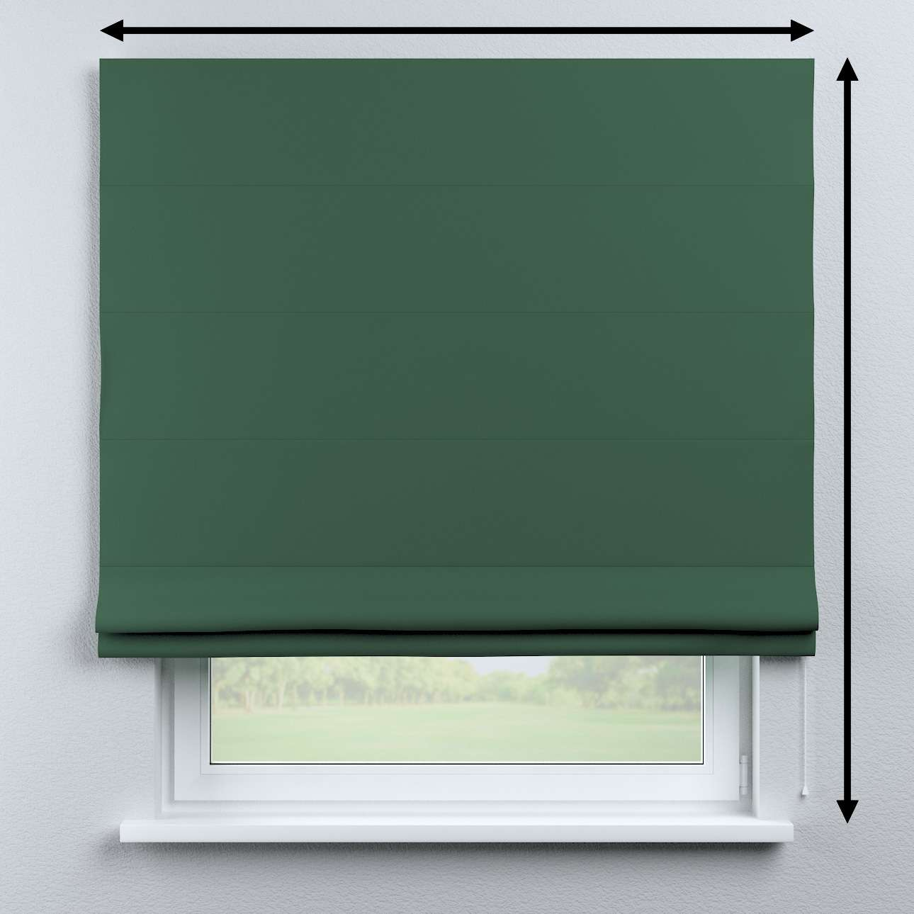 Capri roman blind in collection Blackout, fabric: 269-18