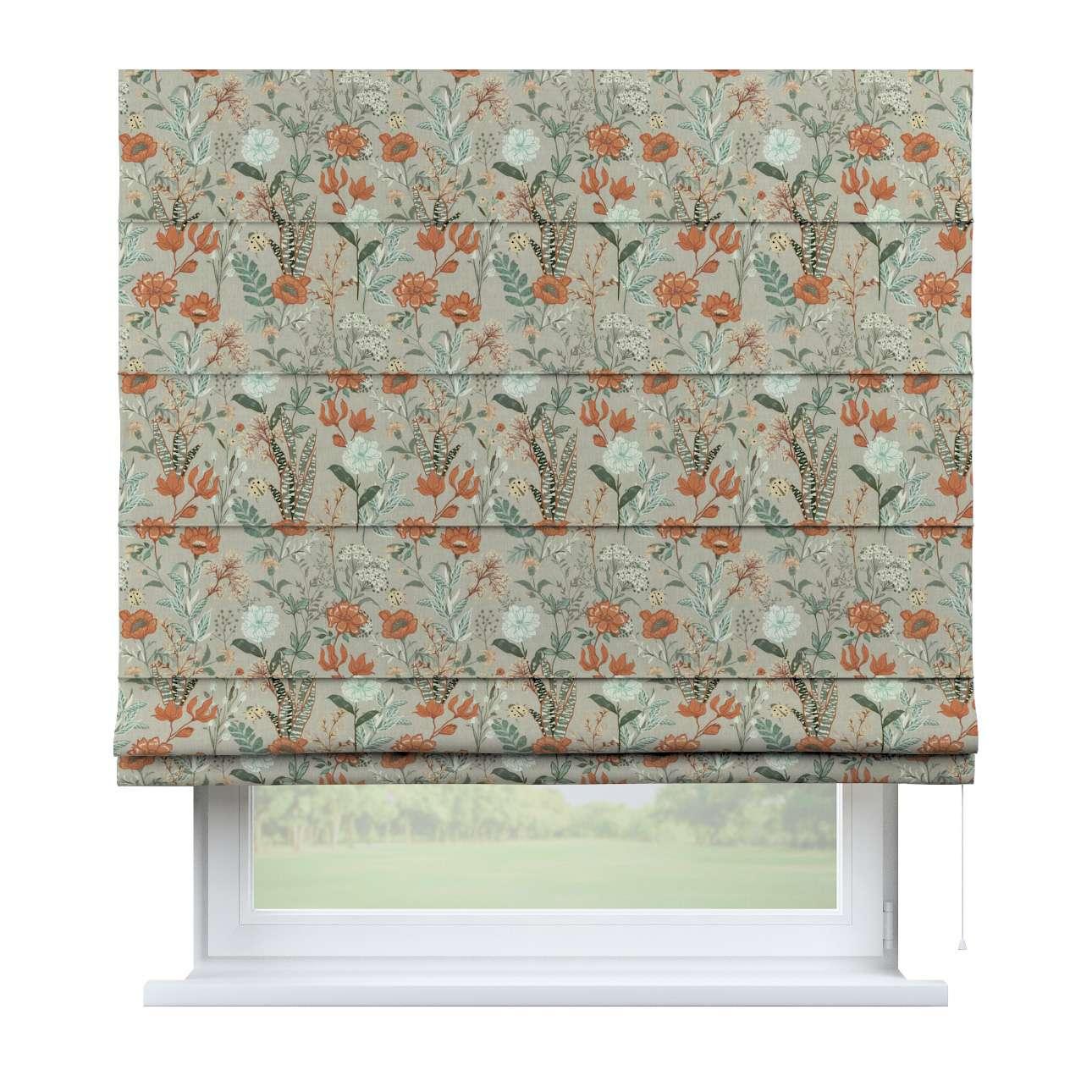 Foldegardin Capri<br/> fra kollektionen Flowers, Stof: 143-70