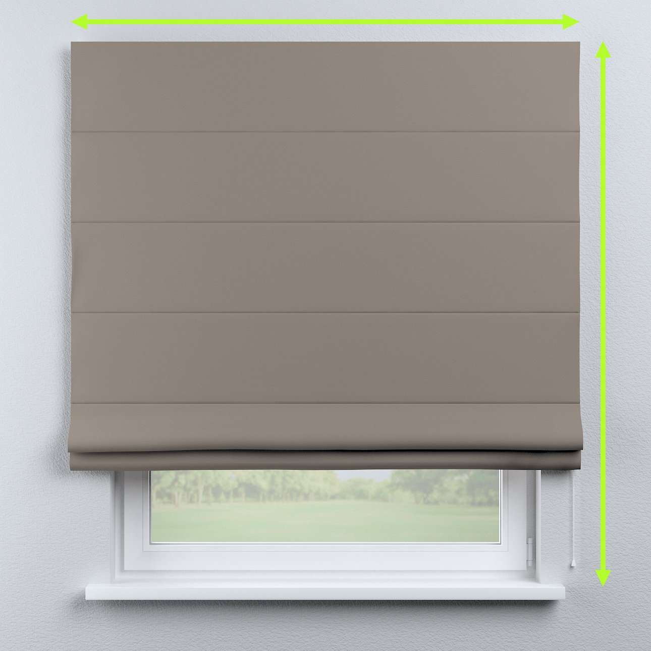 Capri roman blind in collection Blackout, fabric: 269-81