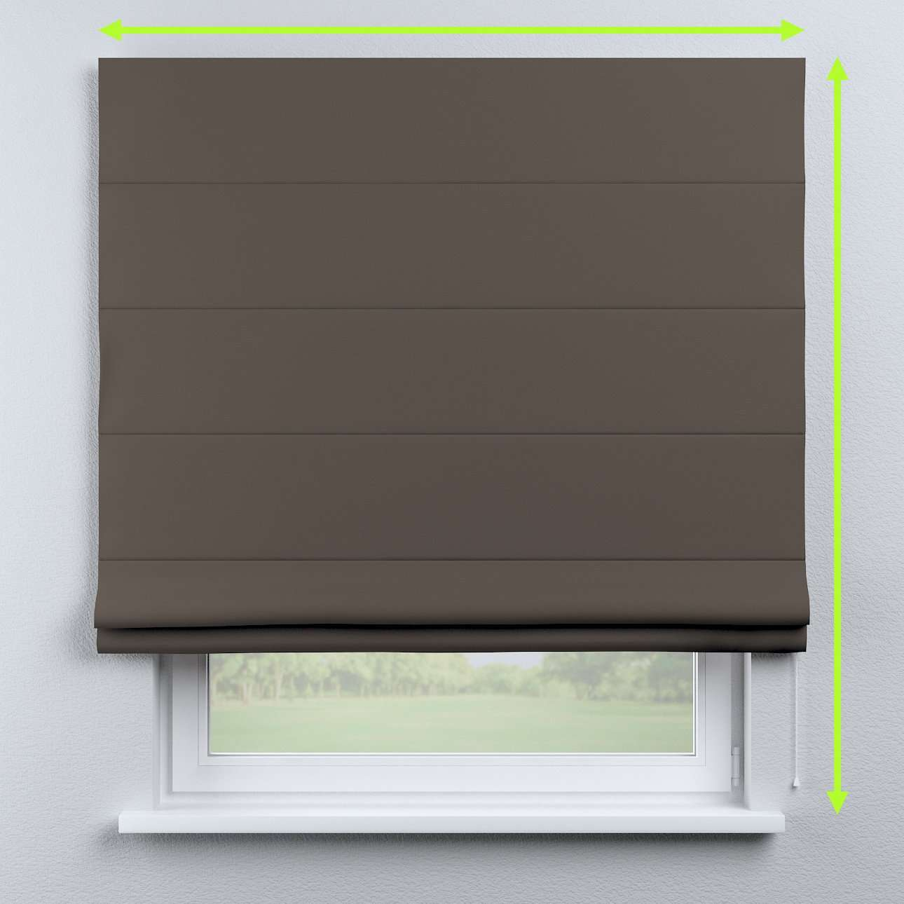 Capri roman blind in collection Blackout, fabric: 269-80