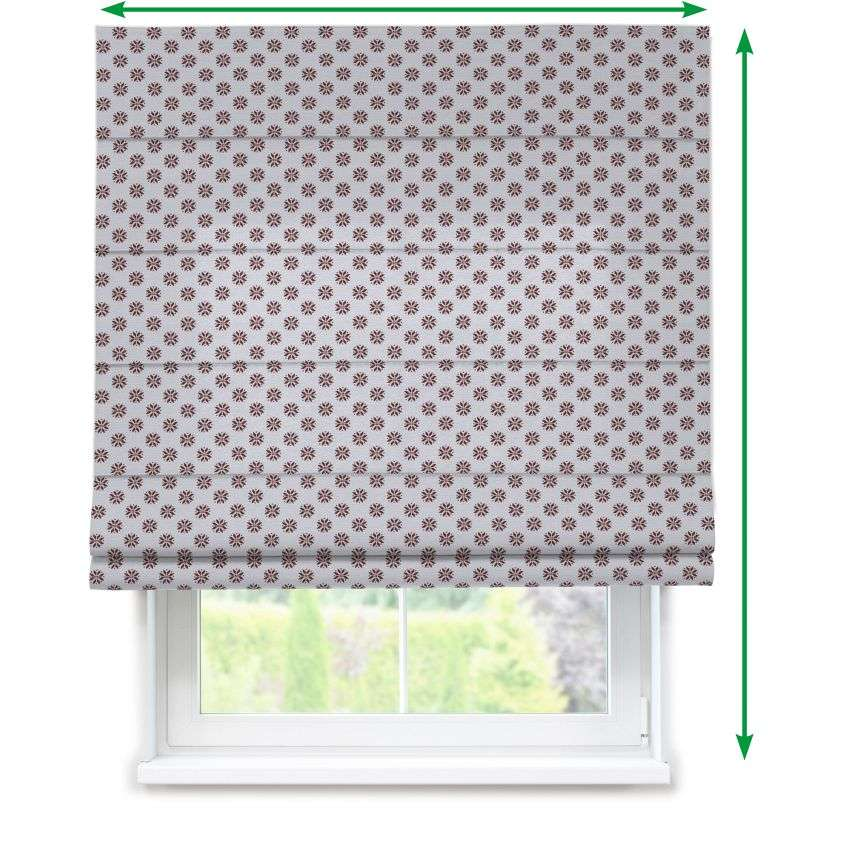 Capri roman blind in collection Christmas , fabric: 630-16