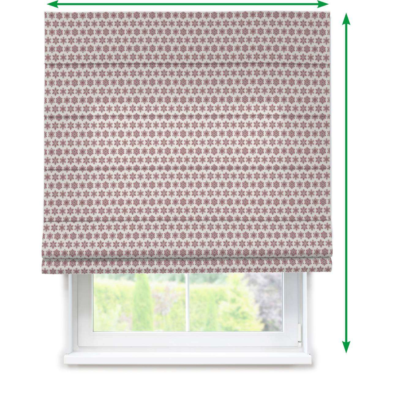 Capri roman blind in collection Christmas, fabric: 630-22
