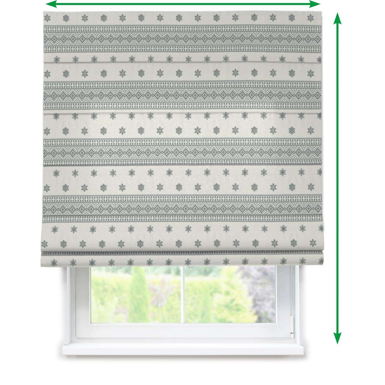Capri roman blind in collection Christmas , fabric: 630-25