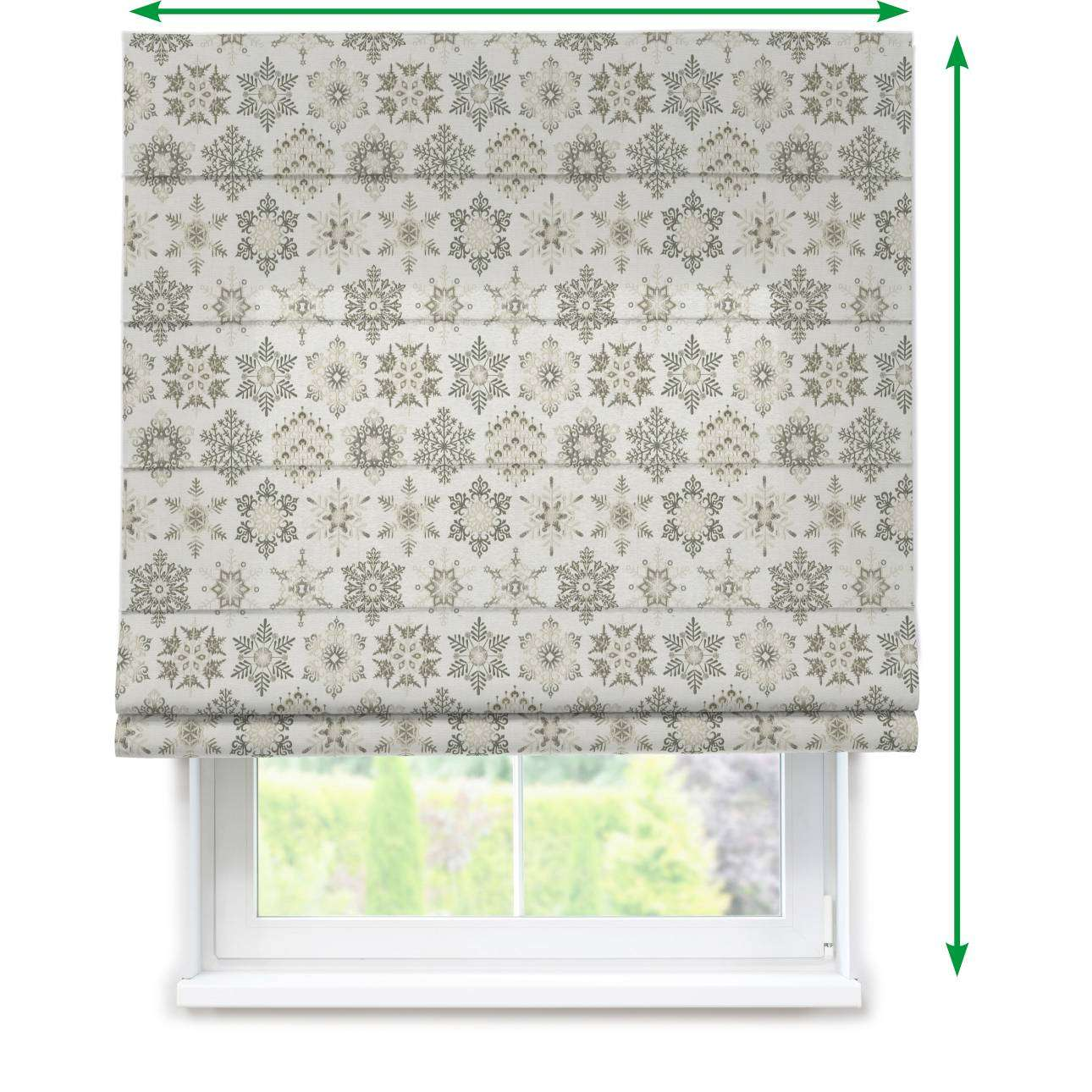 Capri roman blind in collection Christmas , fabric: 630-27