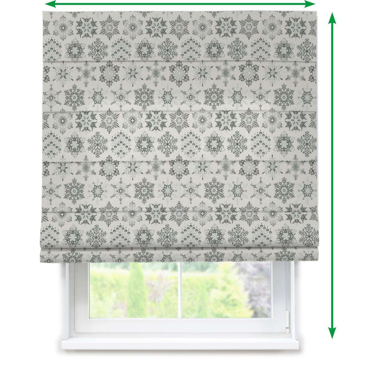 Capri roman blind in collection Christmas , fabric: 630-29