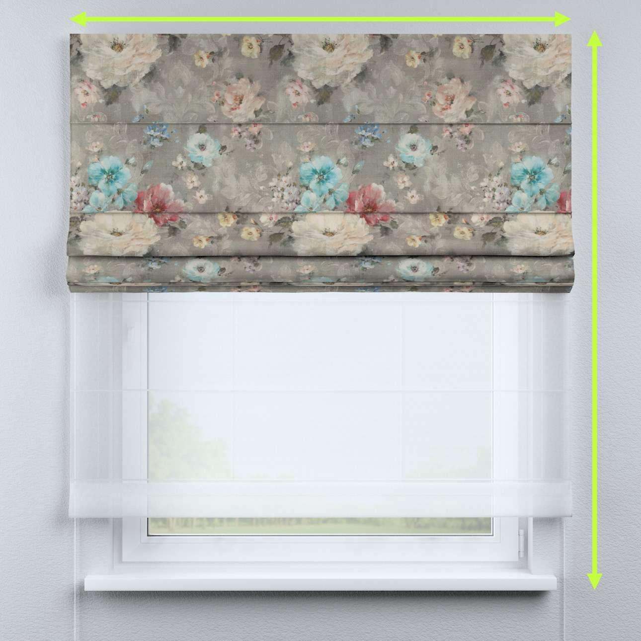 Duo med ensfarvet voile fra kolleksjonen Monet , Stoffets bredde: 137-81