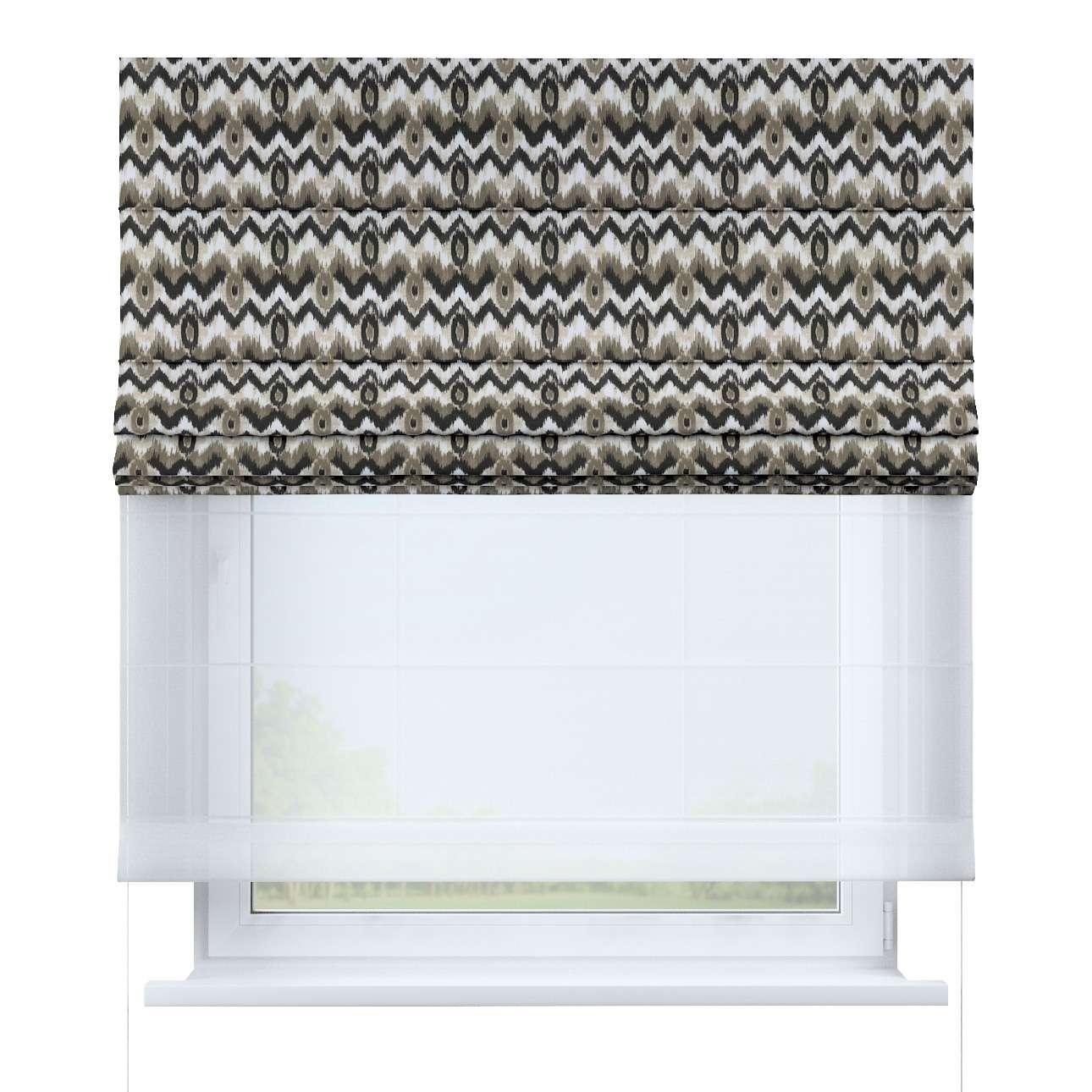 Duo med ensfarvet voile fra kolleksjonen Modern, Stoffets bredde: 141-88