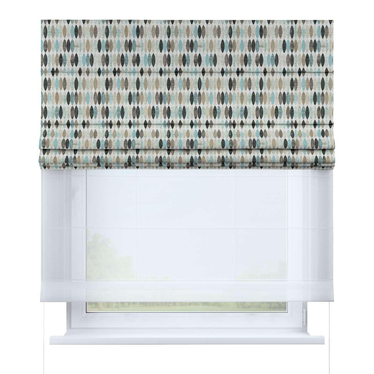 Roleta rzymska Duo 130×170cm w kolekcji Modern, tkanina: 141-91