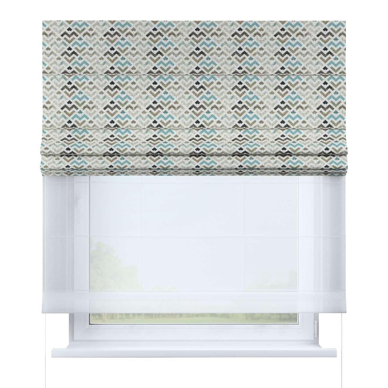 Vouwgordijn Duo van de collectie Modern, Stof: 141-93
